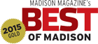 Madison Magazine's Best of Madison - 2015 Gold